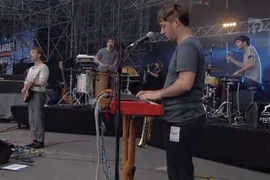 Francois And The Atlas Mountains - Musilac 2014