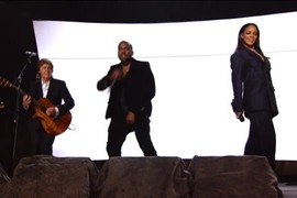 Rihanna feat. Paul McCartney & Kanye West - Four Five Seconds - Grammy Awards 2015