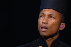 "Pharrell Williams feat. Lang Lang ""Happy"" - Grammy Awards 2015"