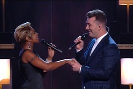 "Sam Smith feat. Mary J. Blige ""Stay With Me"" - Grammy Awards 2015"