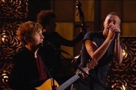 "Beck feat. Coldplay ""Heart Is A Drum"" - Grammy Awards 2015"